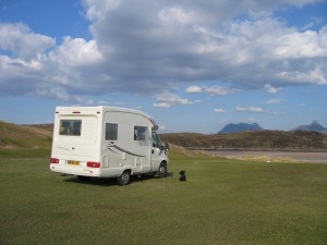 402 van at achnahaird