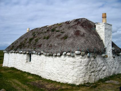 Traditional croft, S. Uist